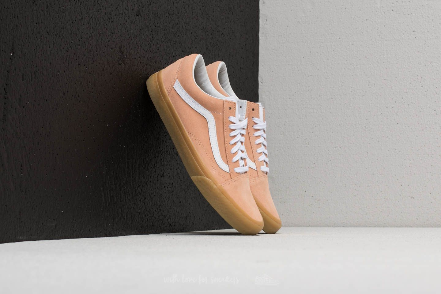 8daeba7437 Vans Old Skool (Double Light Gum) Apricot