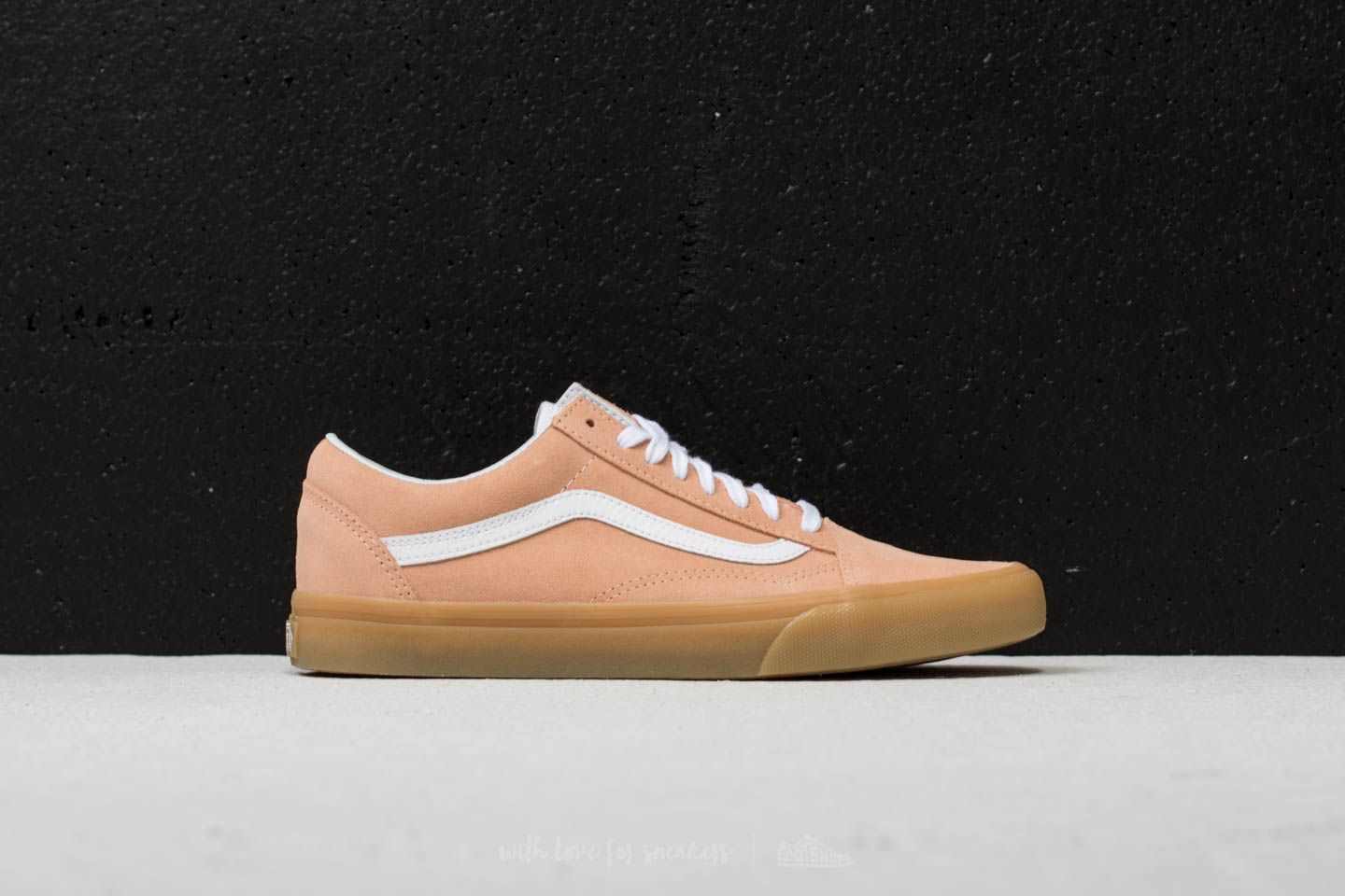 Vans Old Skool Pastel Pink Gum Shoes