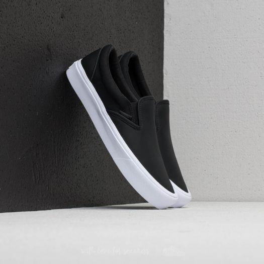 Vans Slip-On Lite (Rains) Black/ True White   Footshop