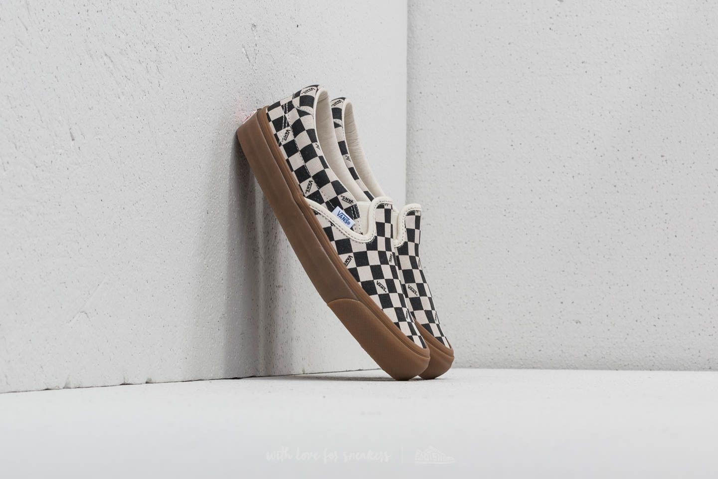 Vans OG Slip-On 59 LX (Suede) Checkerboard/ Light Gum