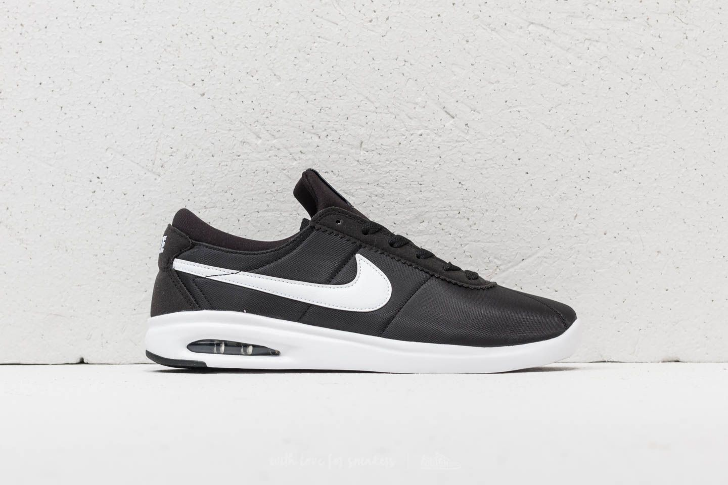reputable site 519d9 c30e3 Nike SB Air Max Bruin Vapor TXT Black White-White-Black at a
