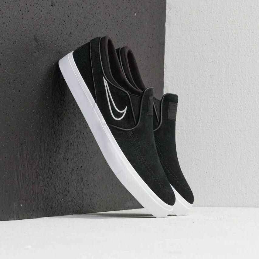 Nike Zoom Stefan Janoski Slip Black/ Light Bone/ White EUR 45