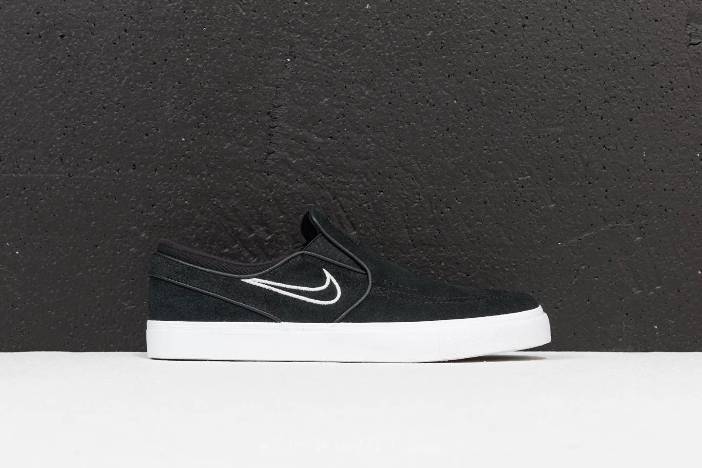 e815dd2ef1b Nike Zoom Stefan Janoski Slip Black  Light Bone  White at a great price 81