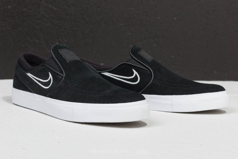 Nike Zoom Stefan Janoski Slip Black  Light Bone  White at a great price 81 dfc763bef205