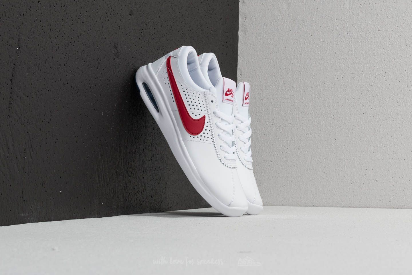 wholesale dealer 5b57f 3d9cf Nike SB Air Max Bruin Vapor White  Gym Red  Game Royal at a great