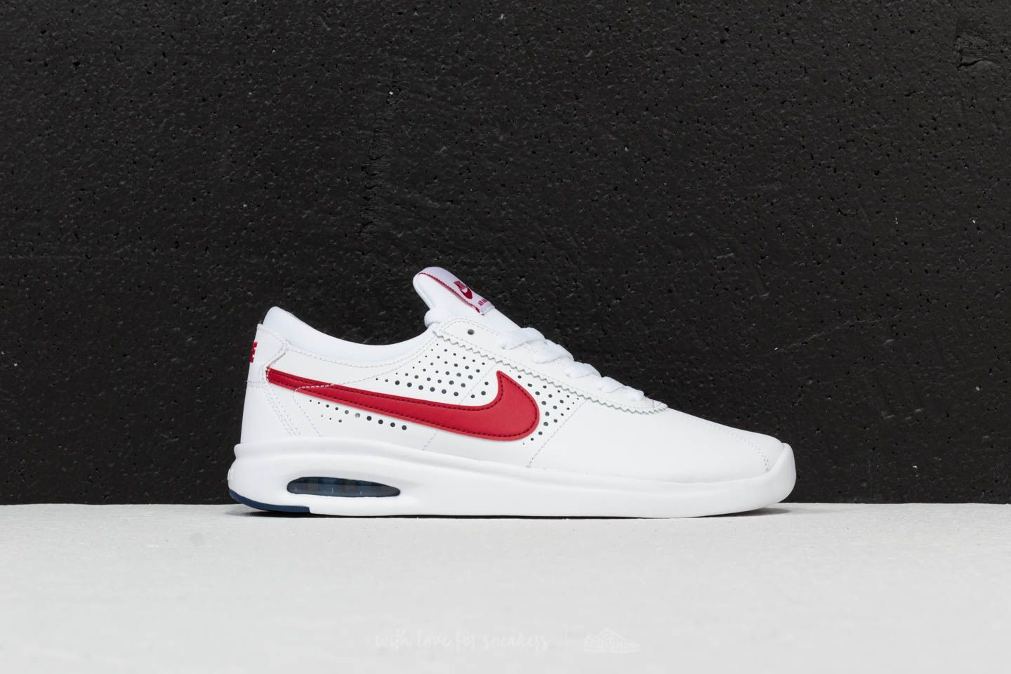 wholesale dealer d8b41 1c355 Nike SB Air Max Bruin Vapor White  Gym Red  Game Royal at a great