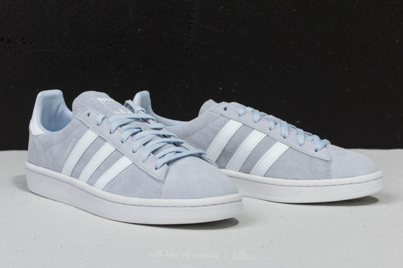 bestia pavo gris  adidas Campus W Aero Blue/ Ftw White/ Crystal White   Footshop