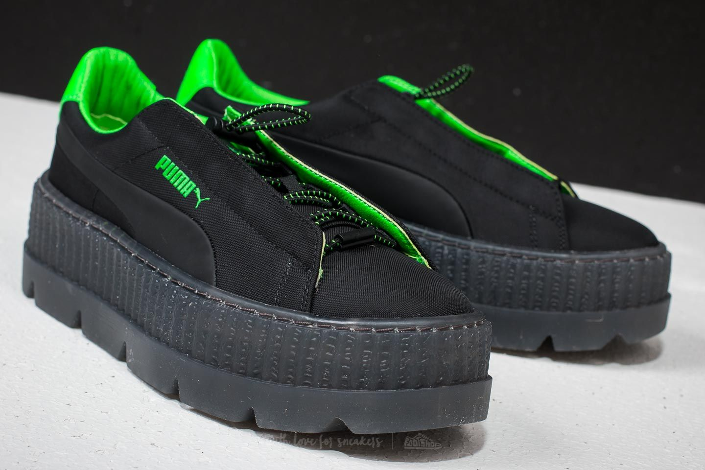 competitive price cfb7a 832ca Puma Fenty x Rihanna Cleated Creeper Surf Wn´s Puma Black ...