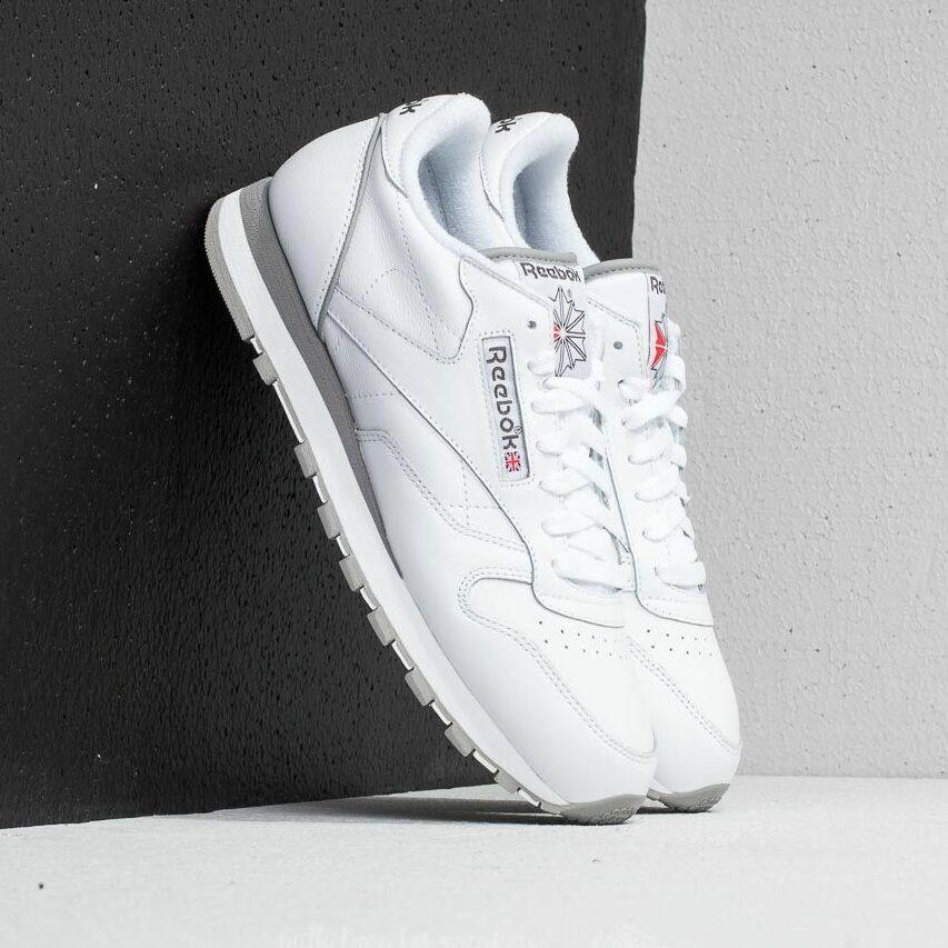 Reebok Classic Leather Archive White/ Carbon/ Red/ Grey EUR 41
