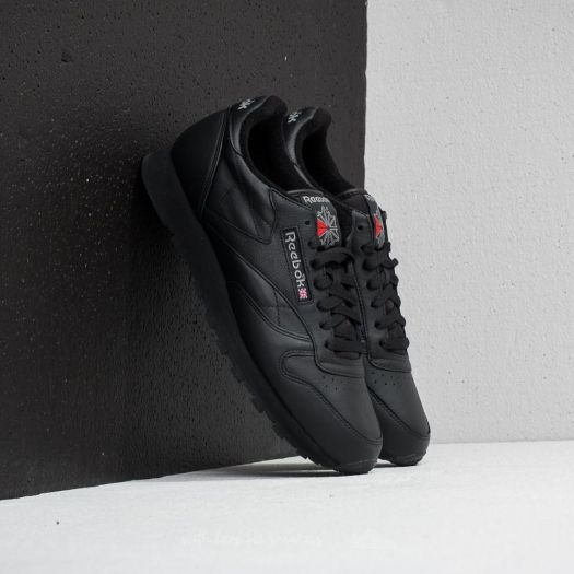 buy good save off sells Reebok Classic Leather Archive Black/ Carbon/ Red | Footshop