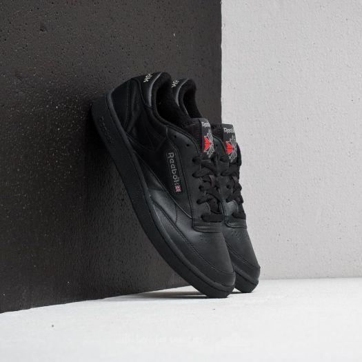 b5de159aff9 Reebok Club C 85 Archive Black  Carbon  Excellent Red