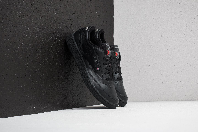 negozio di alimentari golf Trattamento  Men's shoes Reebok Club C 85 Archive Black/ Carbon/ Excellent Red | Footshop