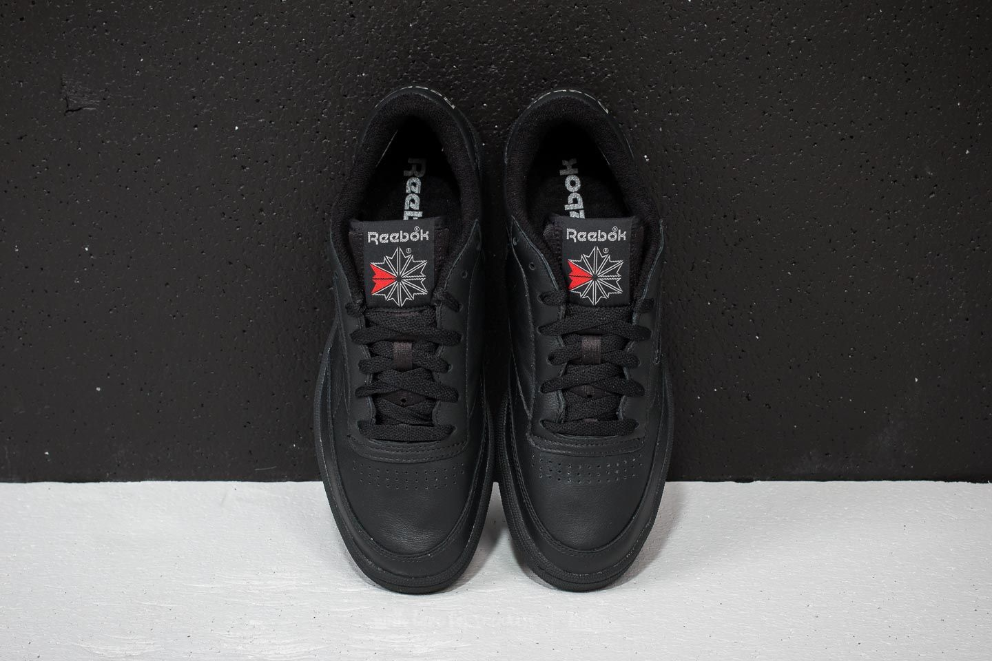 729fa43b7142 Reebok Club C 85 Archive Black  Carbon  Excellent Red at a great price 83