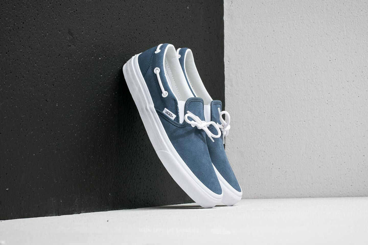 22e0dd09be Vans Lacey 72 (Suede) Leather Lace  Classic White