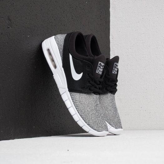 Nike SB Stefan Janoski Max (GS) Black White   Footshop