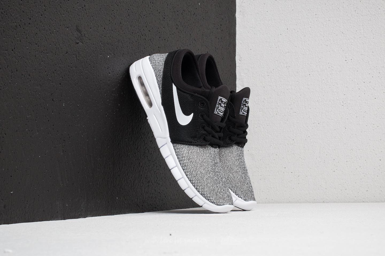 b9f21e99405a Nike SB Stefan Janoski Max (GS) Black  White