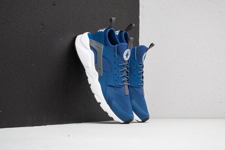 Nike Air Huarache Run Ultra Gym Blue Wolf Grey White | Footshop