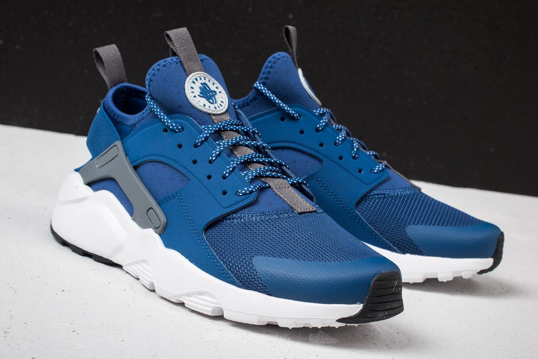 ff91902795 Nike Air Huarache Run Ultra Gym Blue/ Wolf Grey-White | Footshop