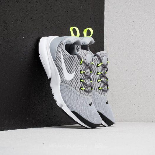 Nike Presto Fly (GS) Wolf Grey White Black Volt   Footshop