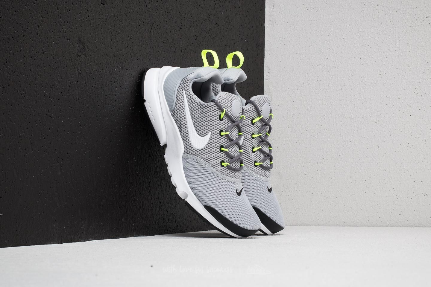 4faa160be6812 Nike Presto Fly (GS) Wolf Grey  White-Black-Volt