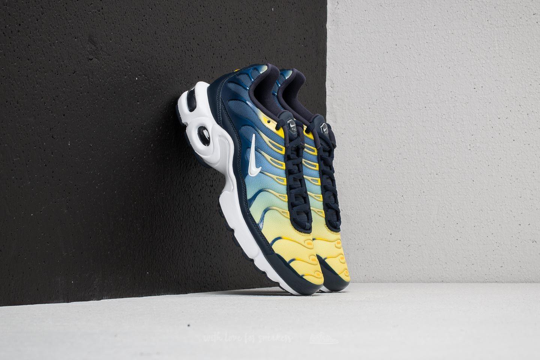 Nike Air Max Plus (GS) Obsidian  White-Gym Blue  b1617826ca