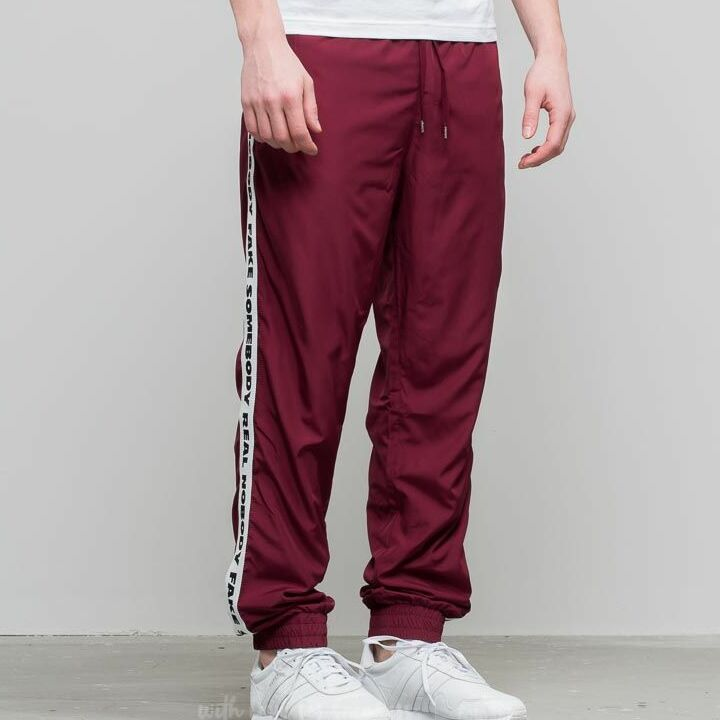 WOOD WOOD Robby Trousers Dark Red