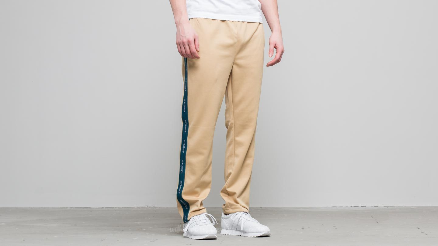 3a36f48e Stüssy Poly Track Pant Khaki at a great price £57 buy at Footshop