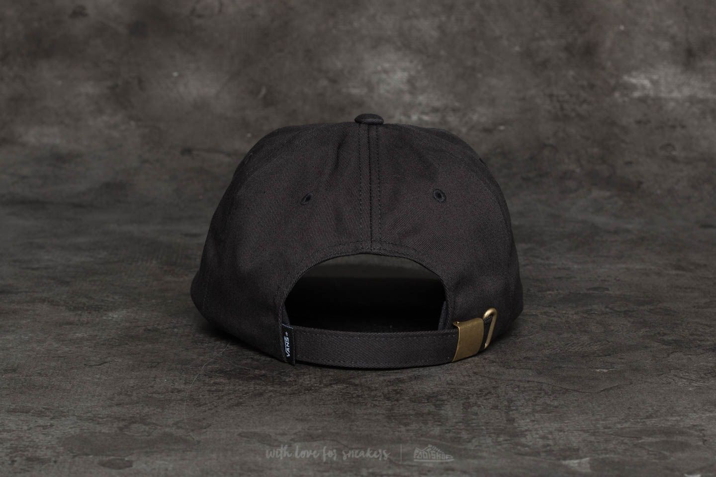 97a9fd2ebe9 Vans Curved Bill Jockey Hat Black at a great price £15 buy at Footshop