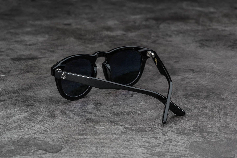 43816320ae Stüssy Luigi Sunglasses Black  Dark Grey at a great price 77 € buy at  Footshop