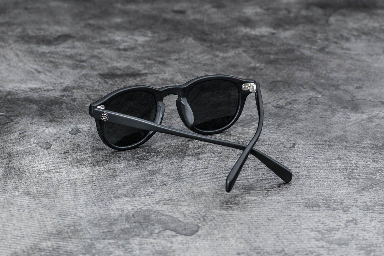 Stüssy Romeo Sunglasses Matte Black  Blue Mirror at a great price 77 € buy  at 6b67c255c52
