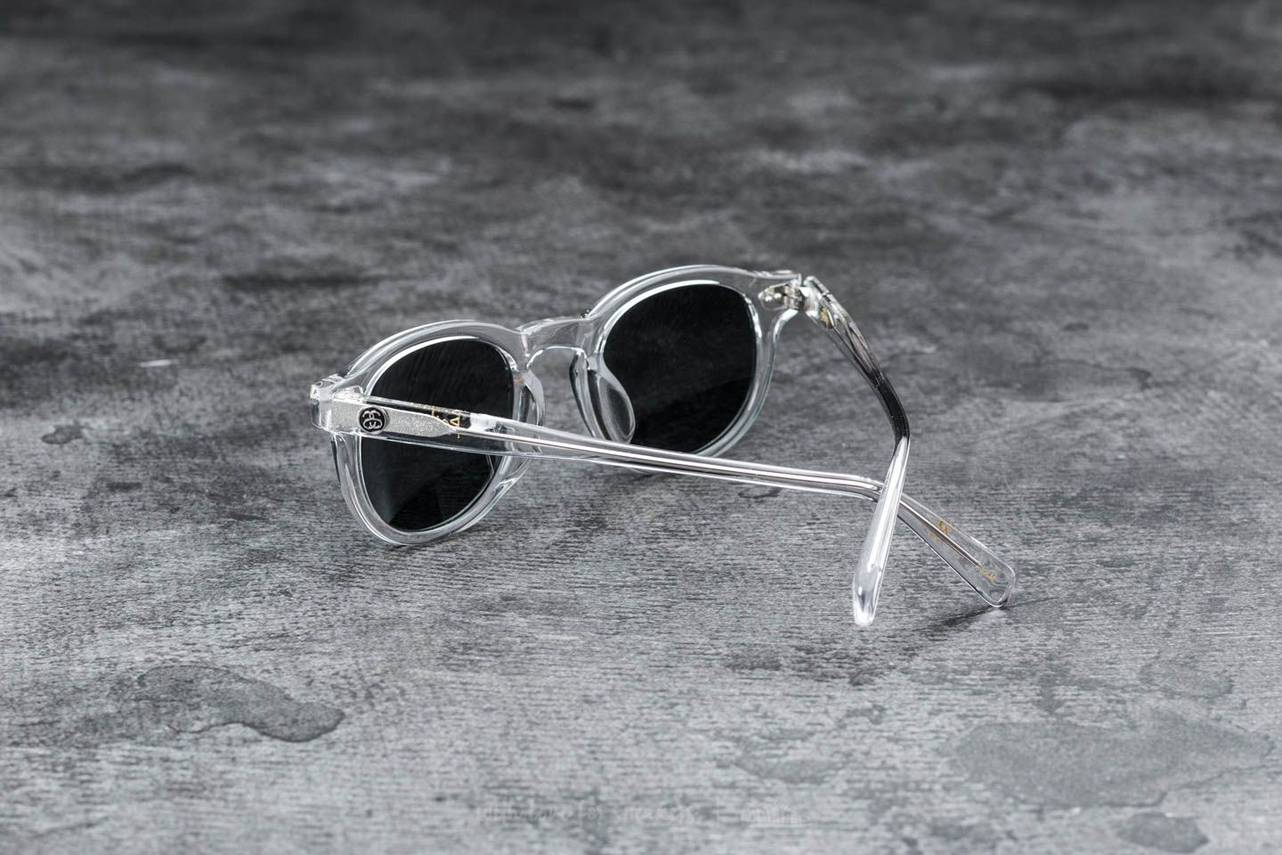 Stüssy Romeo Sunglasses Translucent Clear  Blue Mirror at a great price 77  € buy at 33efeefa5ec