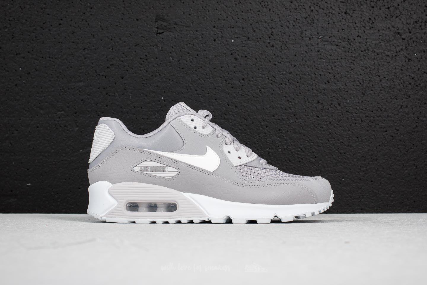 detailed pictures 50a41 35381 Nike Wmns Air Max 90 SE Atmosphere Grey/ White | Footshop