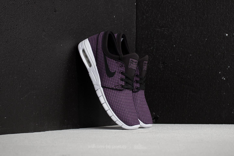 4abbbc180698 Nike SB Stefan Janoski Max Black  Black-Pro Purple-White