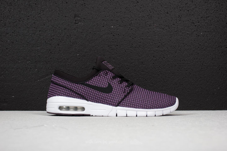 b5dec0af98f7 Nike SB Stefan Janoski Max Black  Black-Pro Purple-White at a great