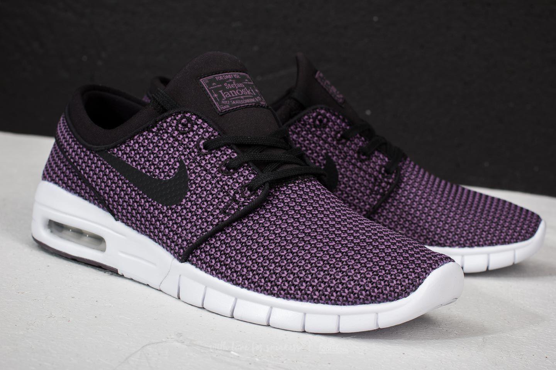 najlepszy najnowszy projekt najniższa zniżka Nike SB Stefan Janoski Max Black/ Black-Pro Purple-White ...