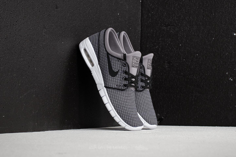 fe99ac5232 Nike Stefan Janoski Max Gunsmoke  Black-White