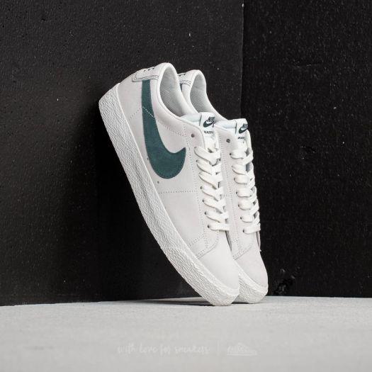 lowest price 5e3cd 8899e Nike SB Zoom Blazer Low Summit White/ Deep Jungle ...