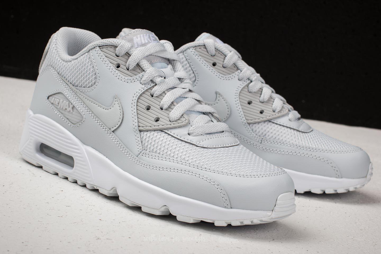 Nike Air Max 90 Mesh (GS) Pure Platinum Pure Platinum | Footshop