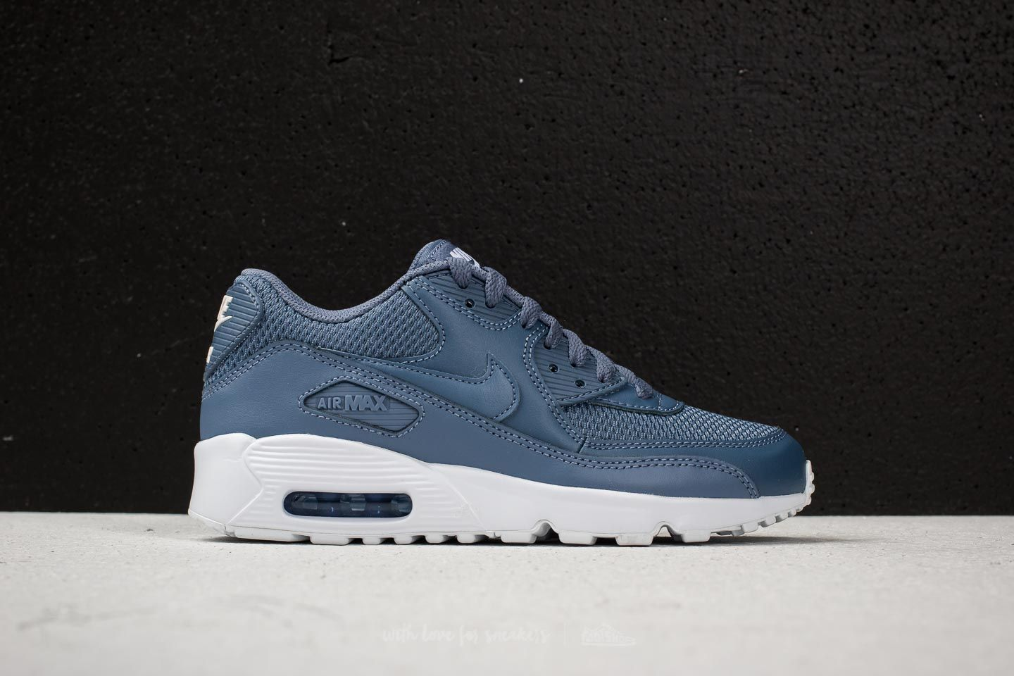separation shoes 06ca4 12c1a Nike Air Max 90 Mesh (GS) Diffused Blue/ Diffused Blue ...