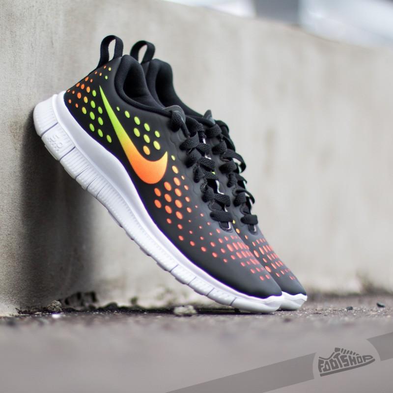 773906467d44 Nike Free Express (GS) Black  Total Orange