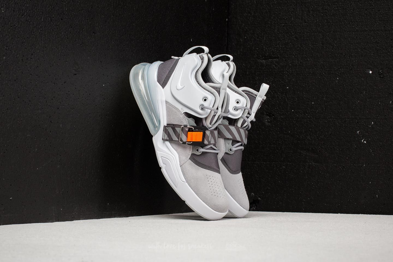 Nike Air Force 270 Wolf Grey  White-Dark Grey-Sail  0133fa04a