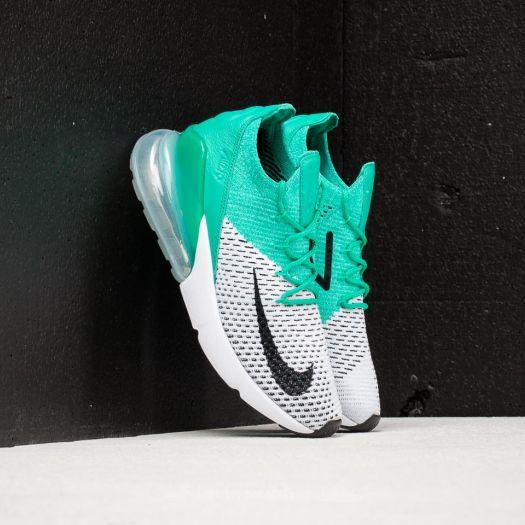 pretty nice d6832 ef0cf Nike W Air Max 270 Flyknit Clear Emerald/ Black | Footshop