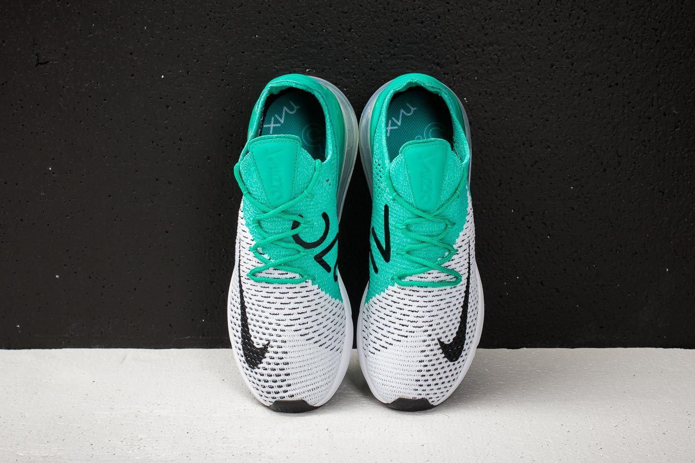 Nike W Air Max 270 Flyknit Clear Emerald Black | Footshop