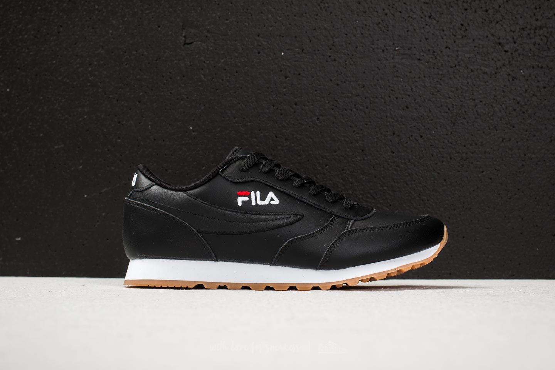 FILA Orbit Jogger Low Black | Footshop