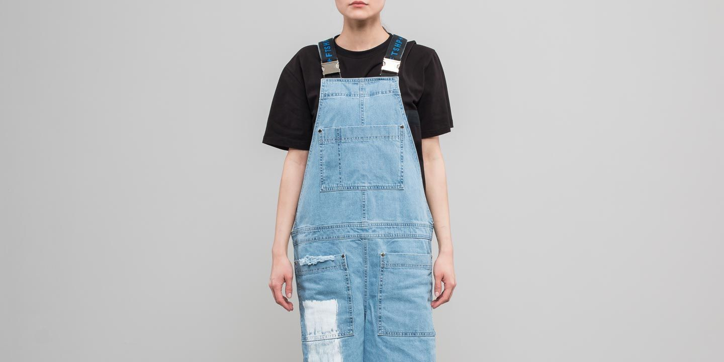 FTSHP  LAFORMELA No Season Denim Track Dress Blue