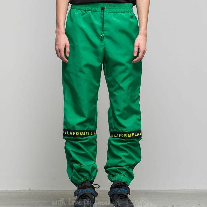 """FTSHP + LAFORMELA """"No Season"""" Zip Track Pants Green"""