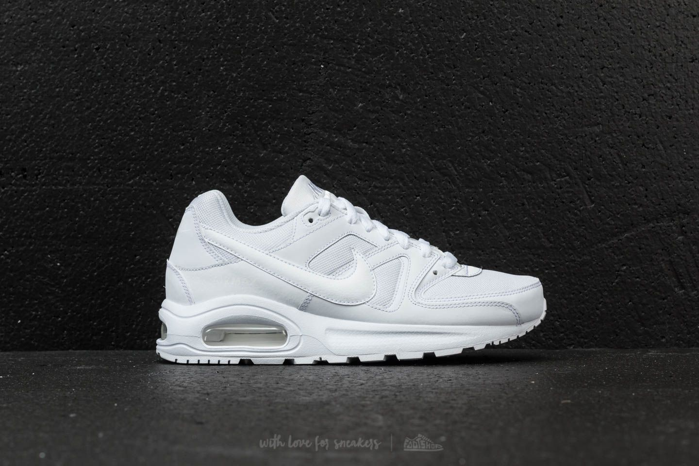 Nike Air Max Command Flex (GS) White White White | Footshop