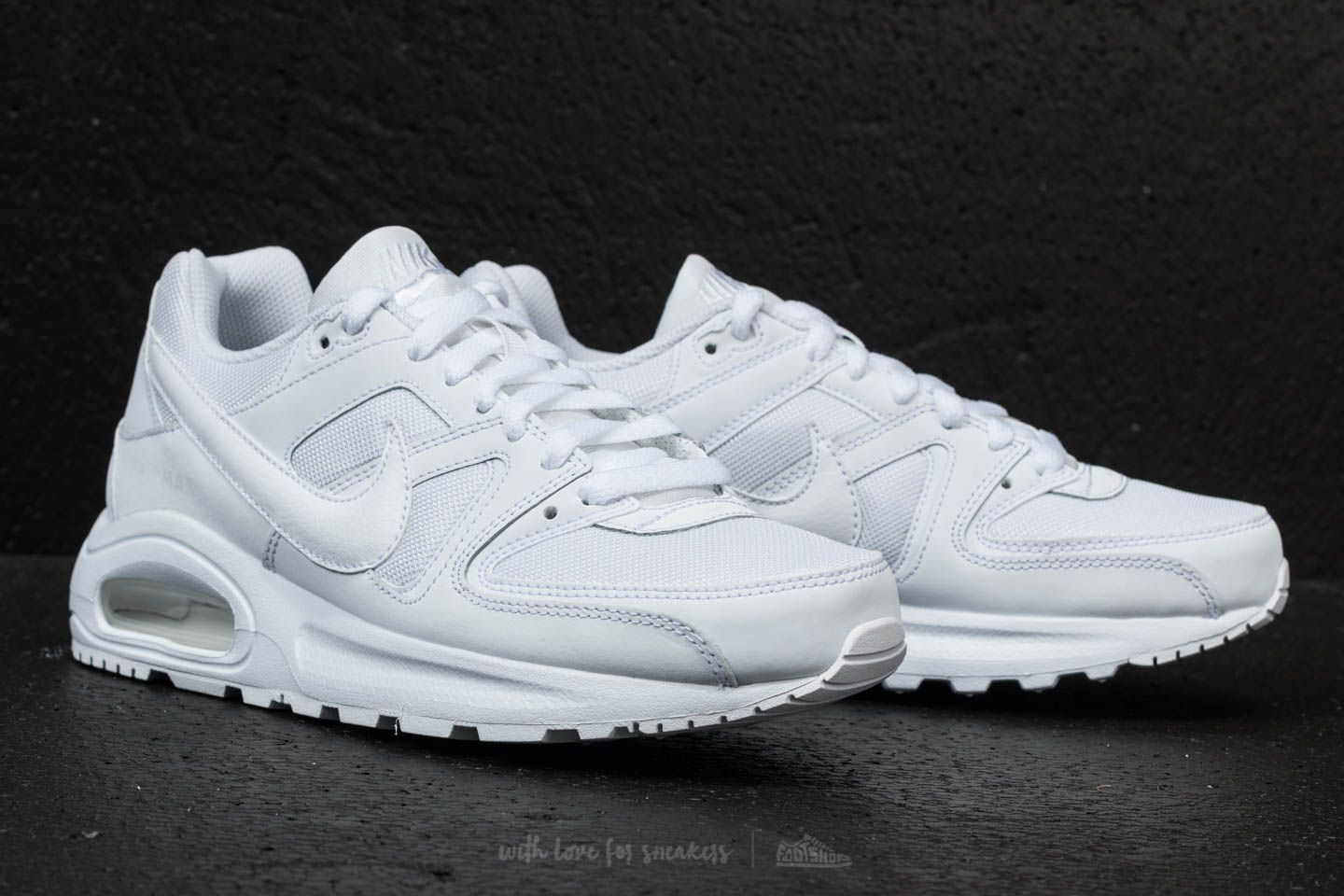 Nike Air Max Command Flex (GS) White  White-White at a great 3a46933ec5753