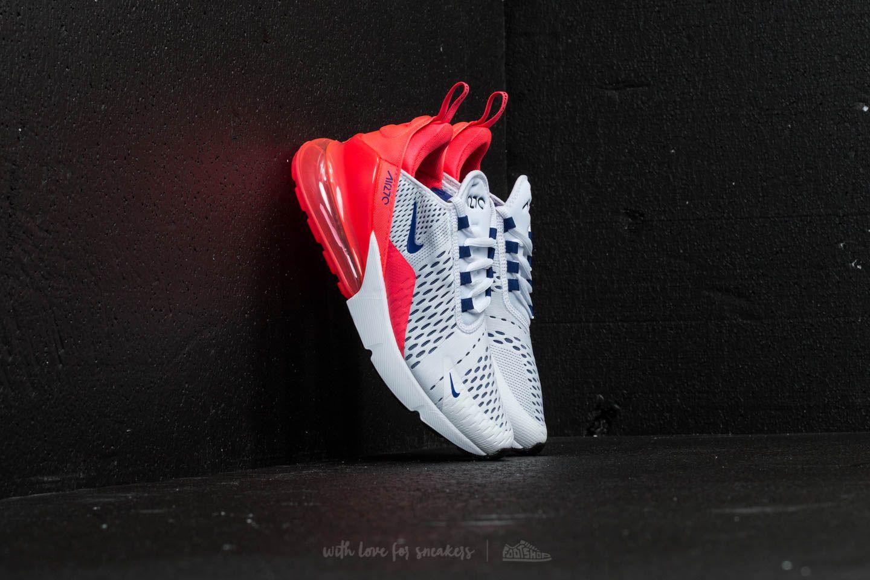 Nike Air Max 270 W White Ultramarine Solar Red | Footshop