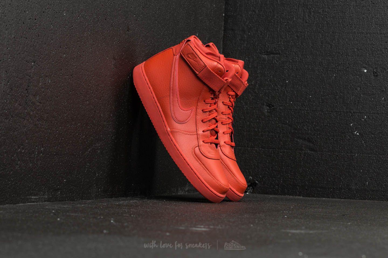 Nike Vandal High Supreme Leather Dragon Red  Dragon Red ... 4adeb7dc7722